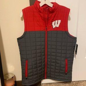Wisconsin badger vest